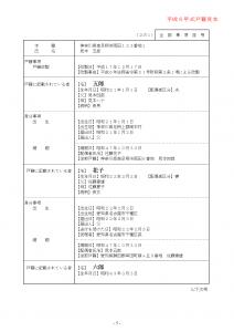 平成6年式戸籍