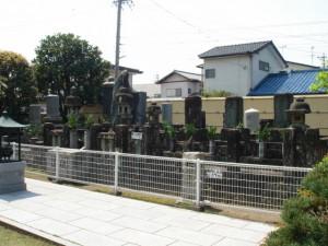 次郎長とその子分の墓