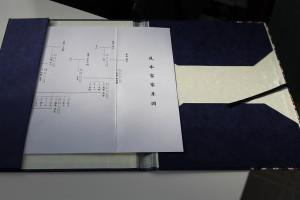 和風家系図表紙