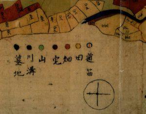 旧土地台帳附属地図